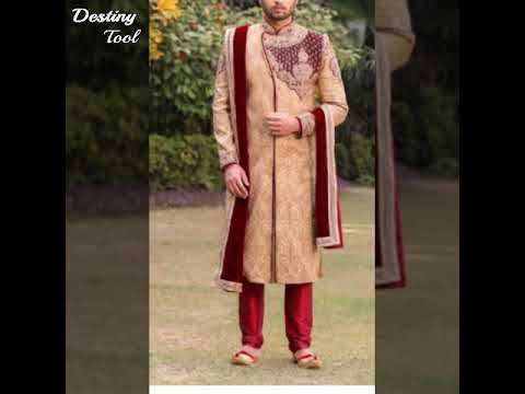 New  designer  sherwani  for weddings   2019 collection in India by asmi smart collection