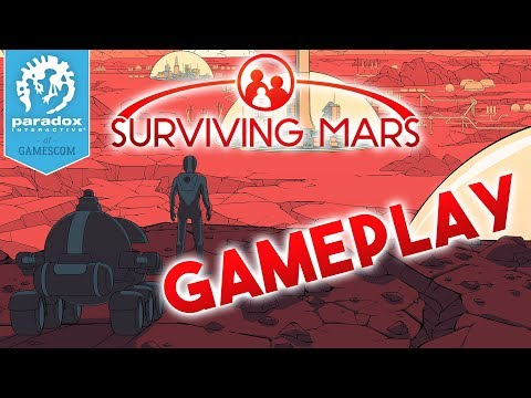 Surviving Mars Gameplay [WORLD PREMIERE] - Gamescom 2017