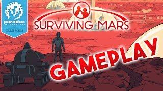 Surviving Mars Gameplay [WORLD PREMIERE] - Gamescom 2017