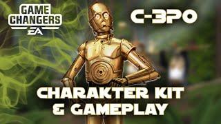 Star Wars Galaxy of Heroes - C-3PO Charakter Kit Synergie Monster - SWGOH Deutsch / German