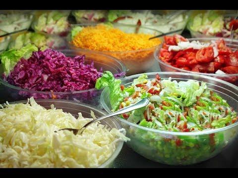 Топ 5 самых быстрых салатов, к Новогоднему столу!