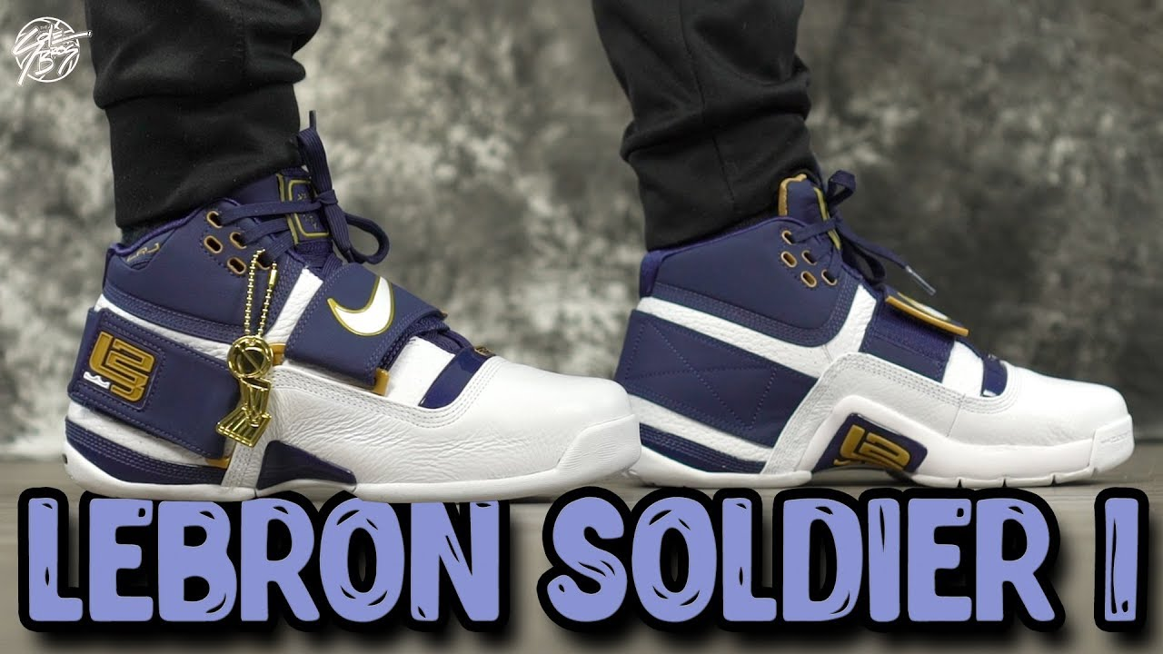 san francisco 1871b 3c40e Nike Lebron Zoom Soldier 1 (25 Straight) First Impressions!