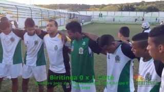 Biritinga 0 x 1 Coité oração pos jogo no estádio o Moreirão