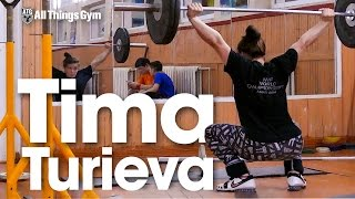 Tima Turieva Training Session after Russian Championships