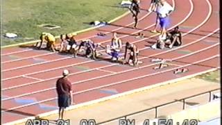 110 Hurdles at Lone Star Conference Meet in San Angelo, TX 2000