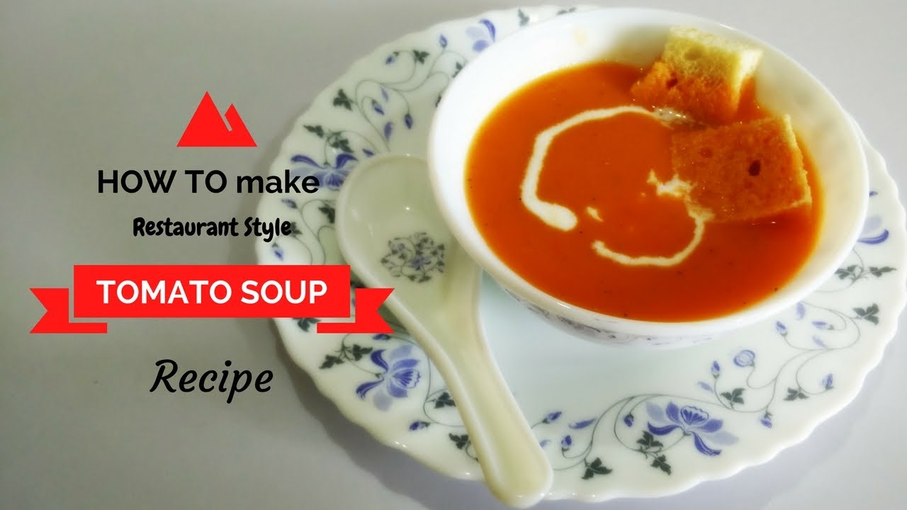tomato soup recipe in hindi by cooking with smita how to make tomato soup youtube. Black Bedroom Furniture Sets. Home Design Ideas