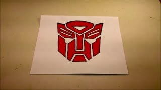 How to Draw the Autobot Symbol