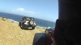 Aruba - Natural Pool - Jeep Ride 2014