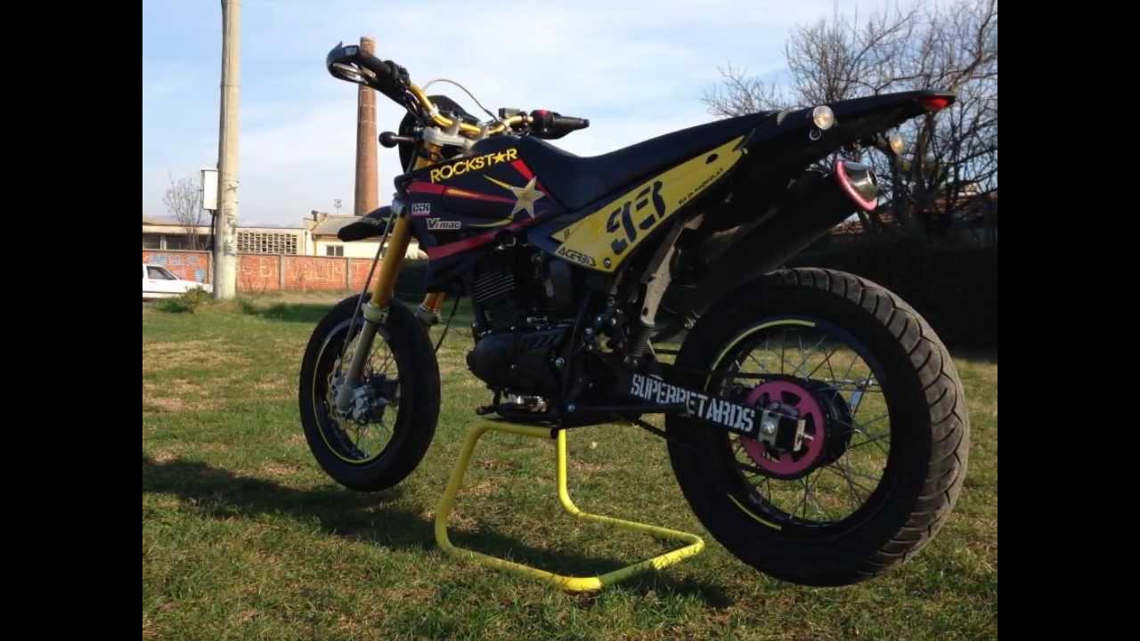 tuning moto trail