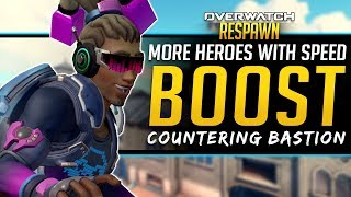 Overwatch Respawn #50 - New Speed Boost Heroes, Bastion Counter and more