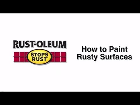 How to Video: How to Paint Rusty Surfaces