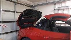 """BMW Z4 E89: Fehlfunktionen der beiden Mikroschalter """"Dachschale 2 geschlossen"""""""