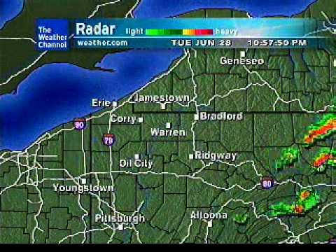 Jamestown, NY / Warren, PA Weatherstar XL - 6/28/2011