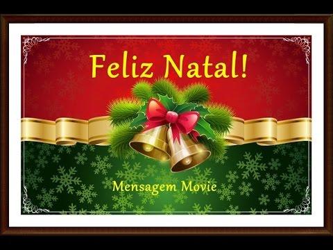Mensagem De Feliz Natal - Cartão De Felicidades