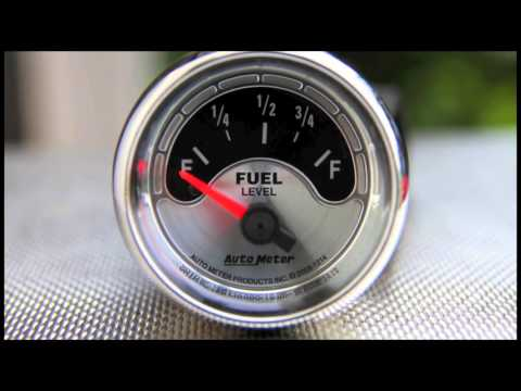 Fuel Level Gauges Autometer How They Work How To Install Tutorial Instructions Ohms Wiring Youtube