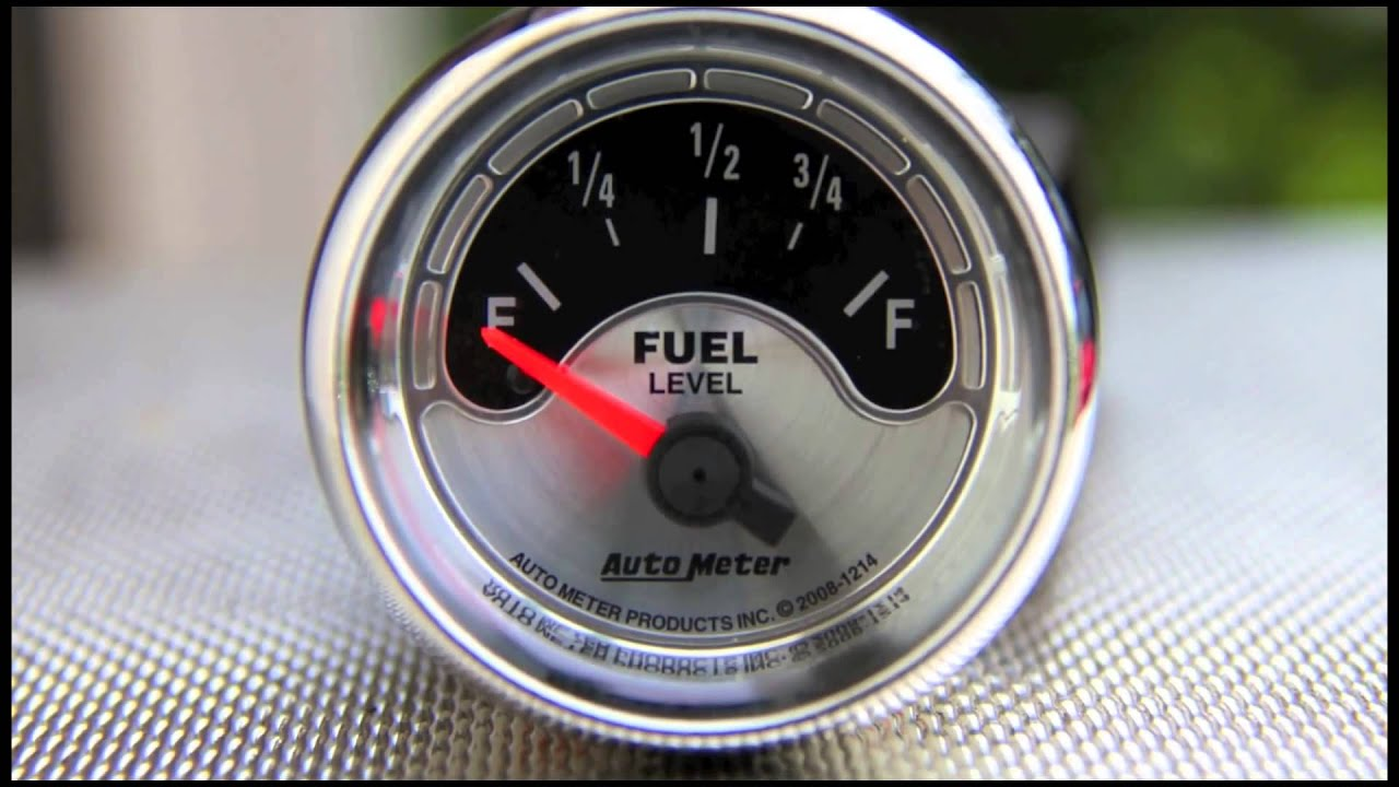 fuel level gauges autometer how they work how to install tutorial rh youtube com wiring autometer gauge clusters wiring multiple autometer gauges
