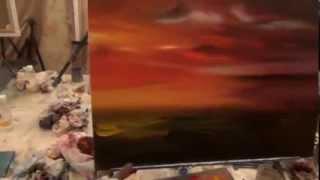 Курсы рисования для взрослых, художник Южаков , видеоурок