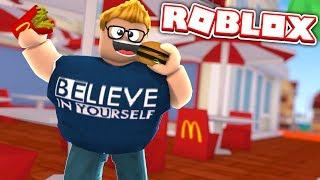 I GOT SO FAT!!! Roblox Super Fat Simulator 2