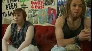 Lucas & Walliams as Gary Barlow & Howard Donald