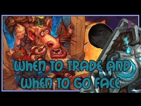 When to trade and when to go face | Spell hunter | The Witchwood | Hearthstone