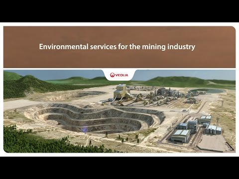 Environmental services for the mining industry - Veolia