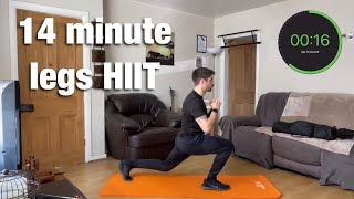 HIIT workout for legs (and some upper body)
