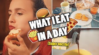 What I EAT in a DAY (SUPER ONESTO) - Come rimanere in forma, VEG, healthy, raw, ecc.