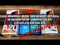 Cara memindah Musik dari Memori internal ke kartu SD HP Samsung Galaxy A10,A20,A30,A50, DAN A70.