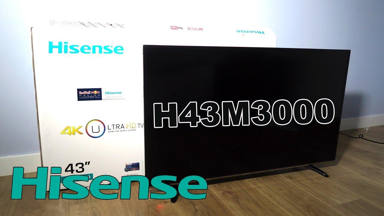 Hisense H43m3000 La Mejor Televisión 4k Calidadprecio De 43