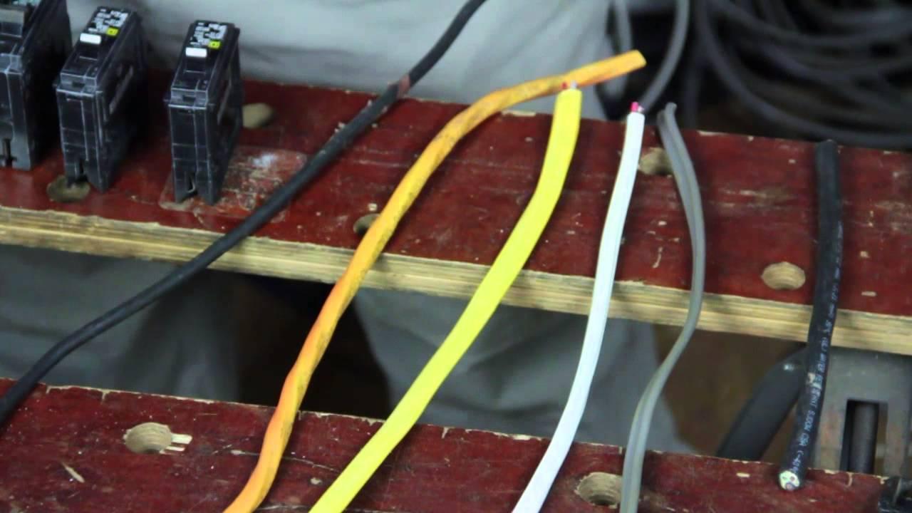 medium resolution of home wiring size