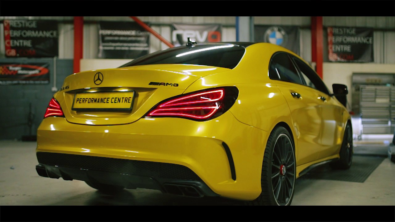 Mercedes CLA45 AMG - Stage 2 - YouTube