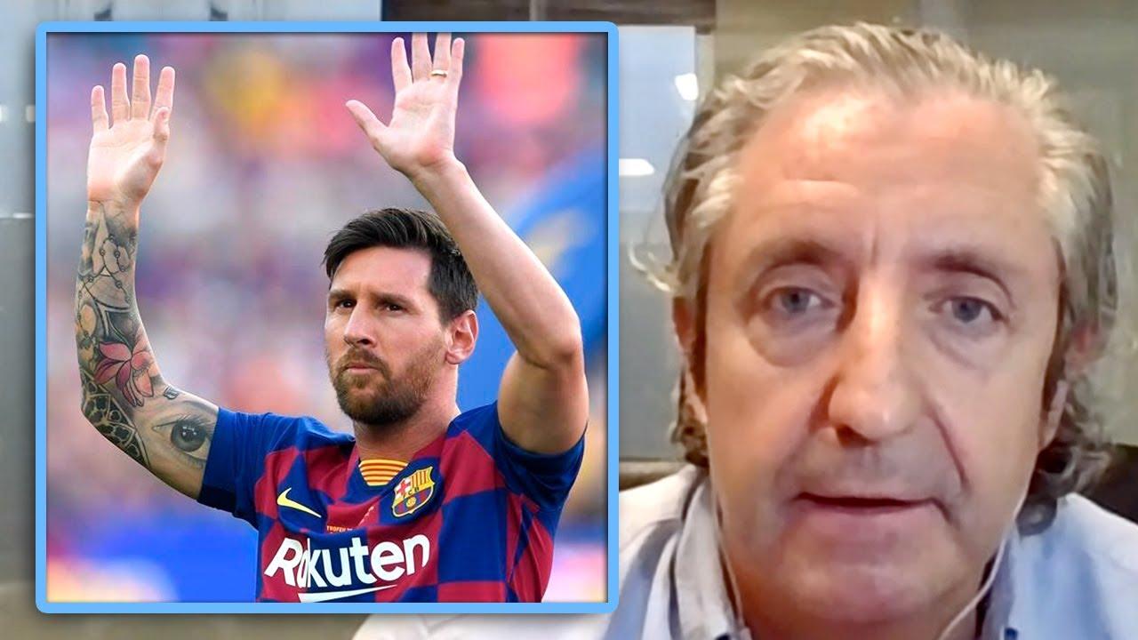 Josep Pedrerol da su opinión sobre Messi y su intento de fuga del año pasado