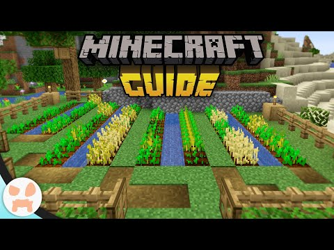 HOW TO FARM! | The Minecraft Guide Season 3 - 1.16.2 Lets Play (Ep. 2)