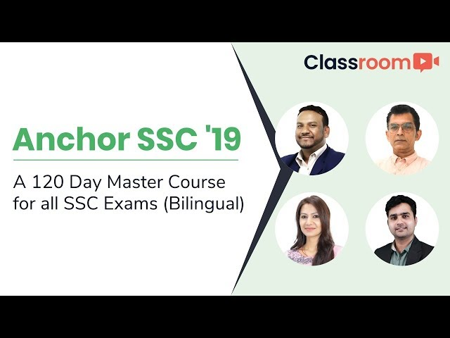 Anchor SSC 2019: A 120-Day Master Course for SSC Exams (Bilingual)