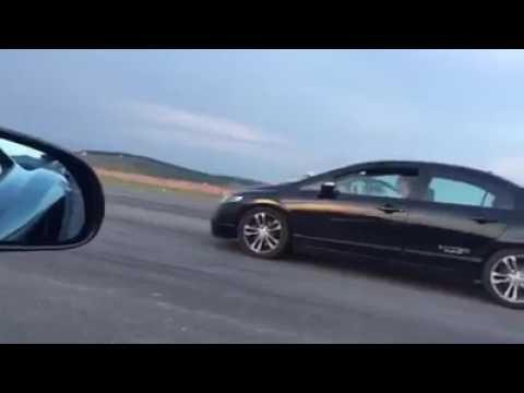 Civic Si Black Bull x McLaren x Lambo