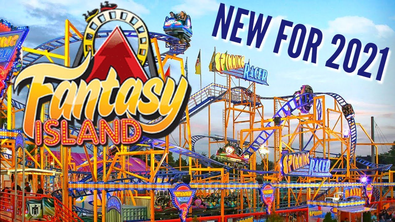 Spinning Racer - NEW For 2021 Fantasy Island Roller Coaster