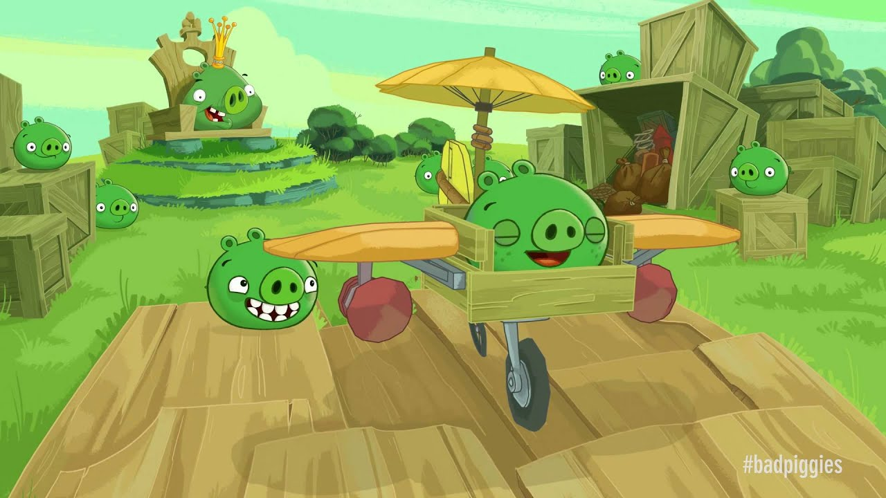 Bad Piggies - Play Free Online Games - Snokido