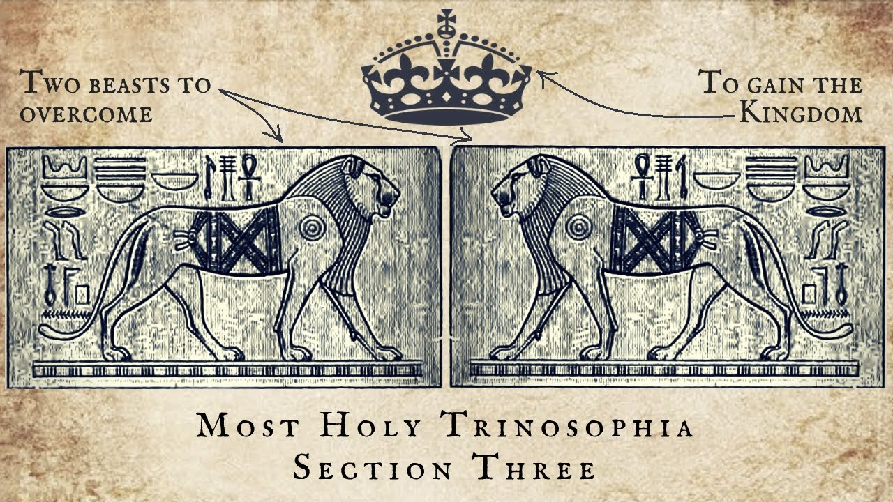 3. Two Beasts to Overcome to Gain the Kingdom - MOST HOLY TRINOSOPHIA