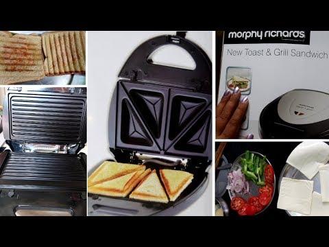 Sandwich Maker Demo & Review| Beginners Guide
