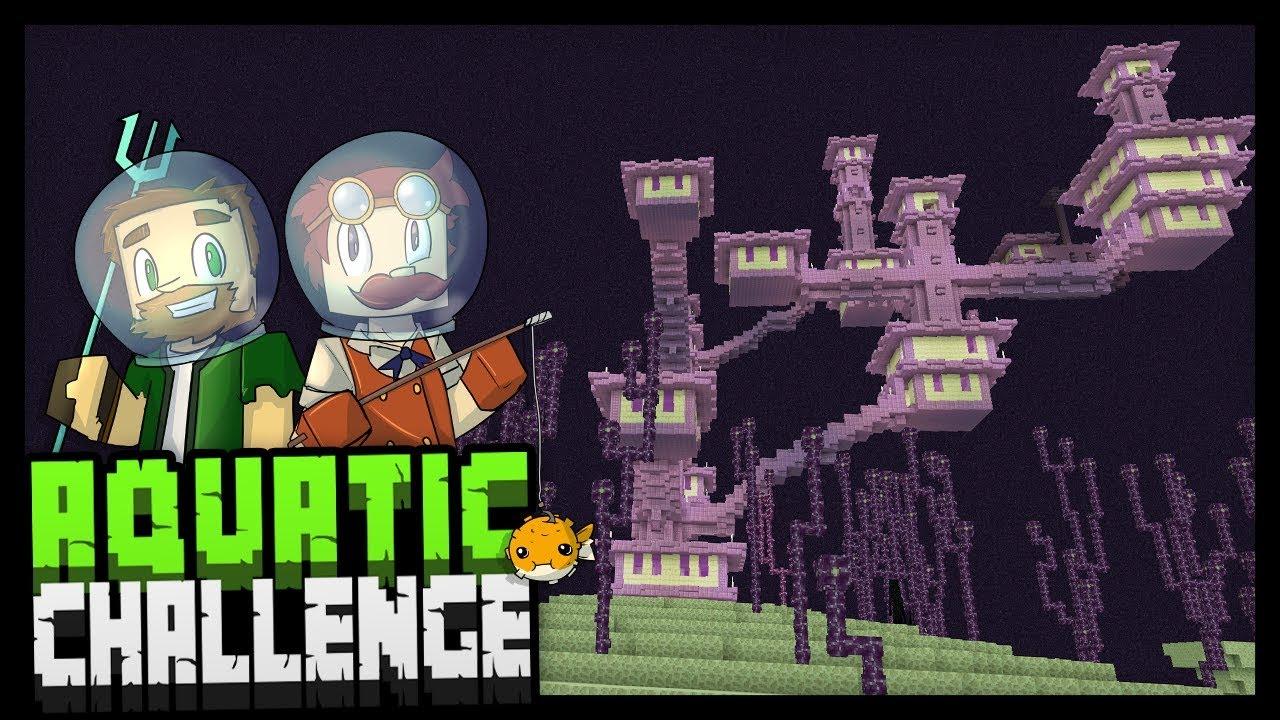 LEARNING TO SHARE Minecraft Aquatic Challenge YouTube - Minecraft namen andern anyart