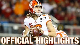 Trevor Lawrence Official Highlights | Clemson QB