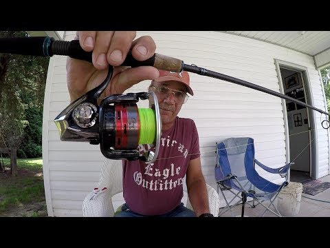 How To Spool Line On A Spinning Reel And Prevent Line Twist
