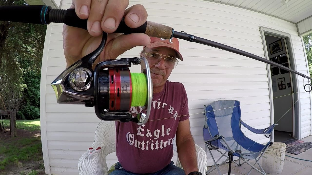 How To Spool Line On A Spinning Reel And Prevent Line Twist Youtube