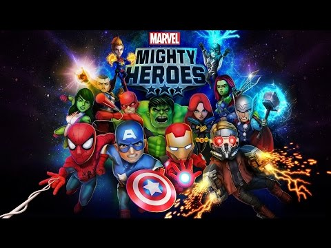Marvel Mighty Heroes - Android Gameplay HD