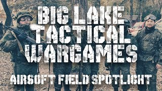 Airsoft Field Highlight - Big Lake Tactical Wargames - MILSIM Action Gameplay Footage