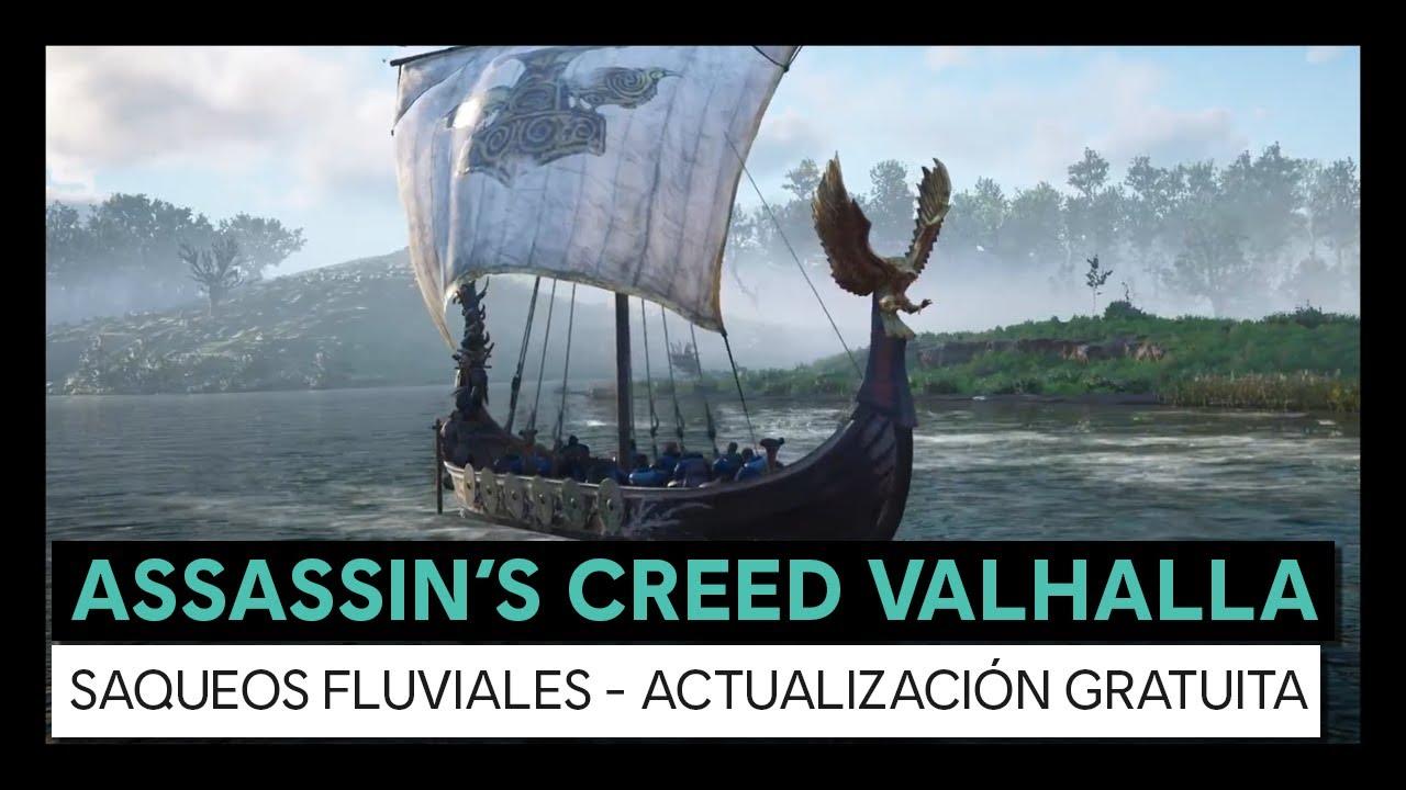 Assassin's Creed Valhalla: Saqueos fluviales Actualización gratuita