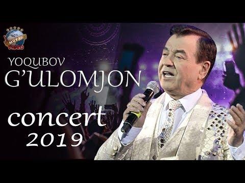 G'ulomjon Yoqubov - 2019-yilgi Konsert Dasturi | Ғуломжон Ёқубов - 2019-йилги концерт дастури