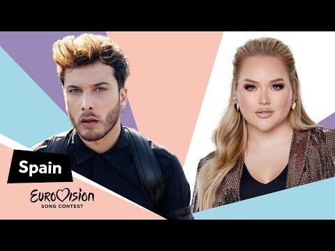 Eurovisioncalls Blas Cantó - Spain 🇪🇸 with NikkieTutorials