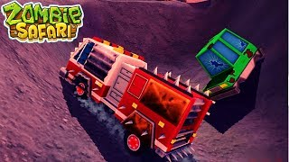 МАШИНЫ ПРОТИВ ЗОМБИ zombie safari #12 ВИДЕО про машинки прохождение ДЛЯ ДЕТЕЙ VIDEOS FOR KIDS games