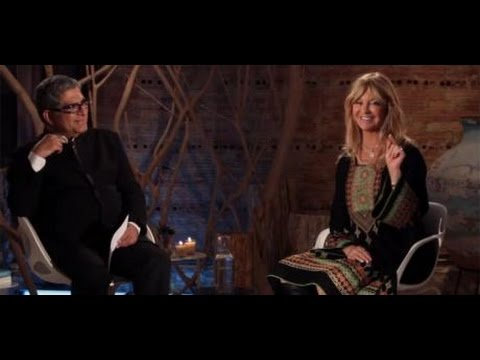GOLDIE HAWN   DEEPAK CHOPRA interview The Benefits of Meditation